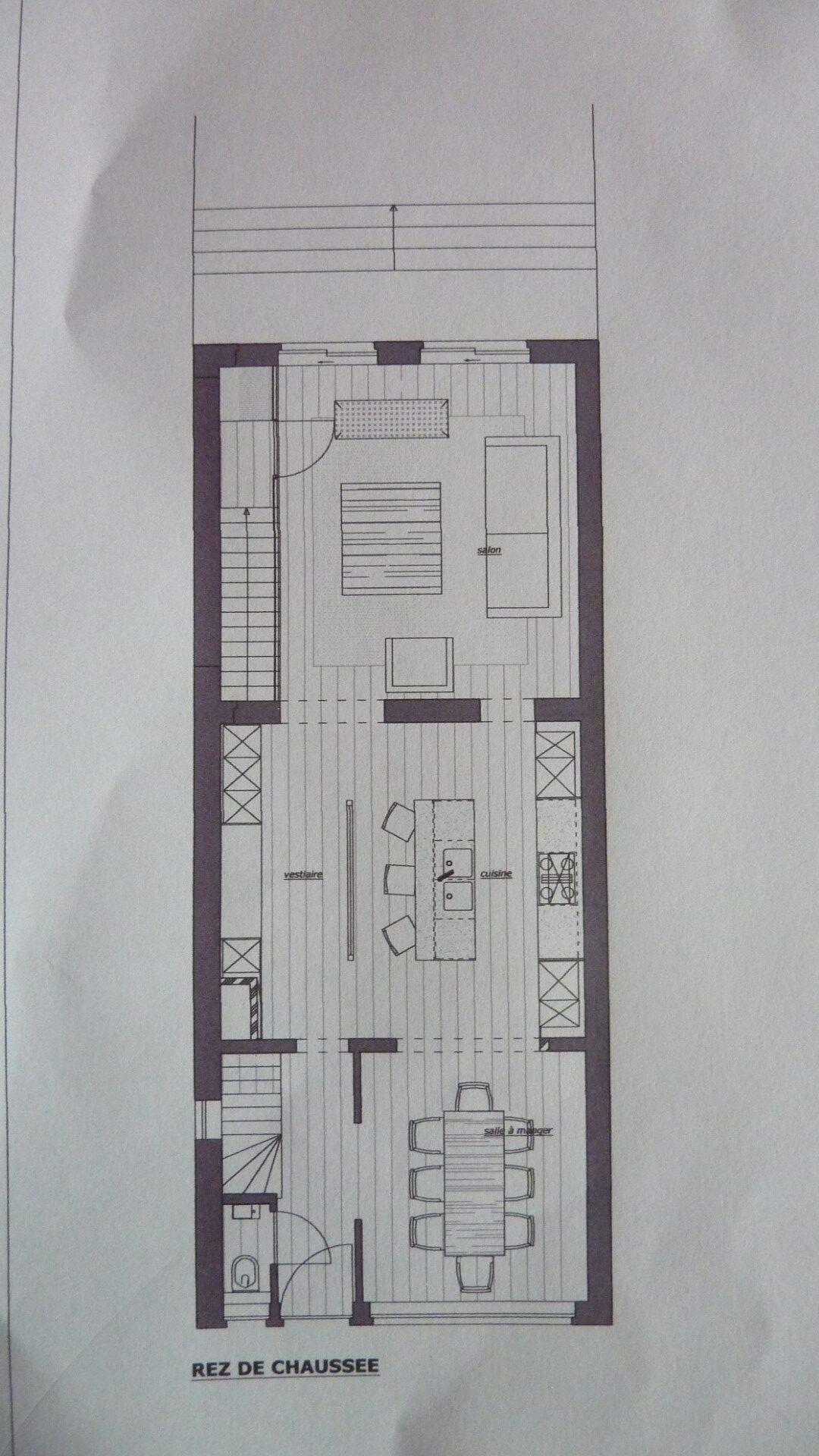 rez-de-chaussée et sous-sol